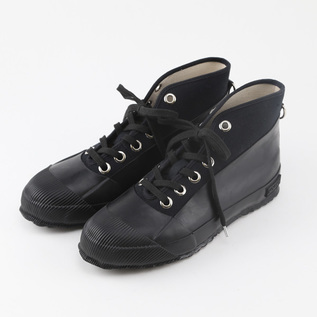WEATHER PROOF HIGH CUT SHOES BLACK