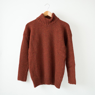 HIGHNECK SWEATER BRICKROW