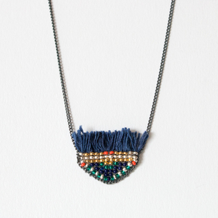 NECKLACE WIRI TRIANGLE