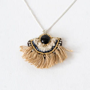 FRINGE NECKLACE ABANICO