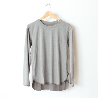 COMFORTABLE T-SHIRT GRAY