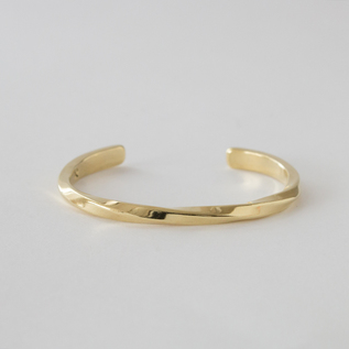LADIES BANGLE STUDEBAKER CUFF POLISHED