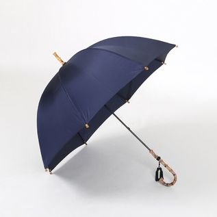 LADIES LONG UMBRELLA NAVY