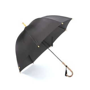 LADIES LONG UMBRELLA BLACK