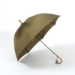 LADIES LONG UMBRELLA KHAKI