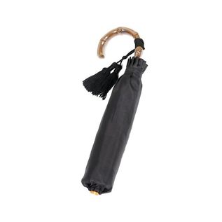 LADIES FOLDING UMBRELLA BLACK