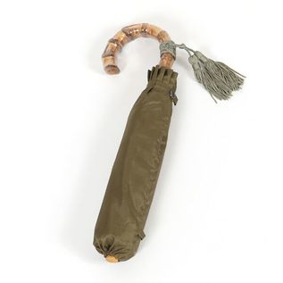 LADIES FOLDING UMBRELLA KHAKI