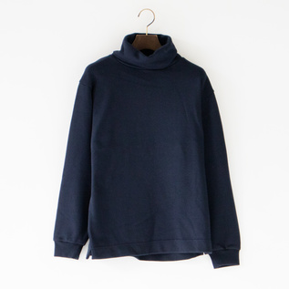 ユニセックス SWEAT HIGHNECK NAVY