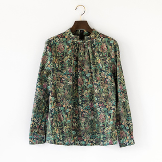 LIBERTY PRINT BLOUSE