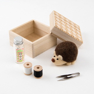 Hedgehog sewing set