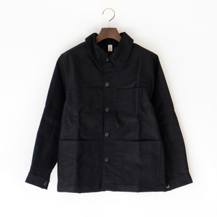 UNISEX TRADITIONAL WORKER JACKET  NOIR