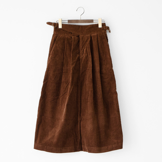 UK430301 gurkha skirt BROWN