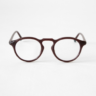 SABAE READING GLASSES DARK RED