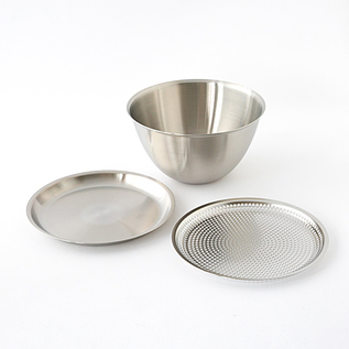 JAPAN DELIVERY ONLY MAKANAI STAINLESS BOWL SET