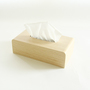 Tissue Box Cover White Oak