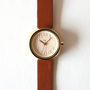 ALBA リキ腕時計 AKQK426 ブラウン