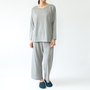 BESPOKE LONG SLEEVE PAJAMAS GREY