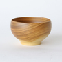 Wooden bowl cherry