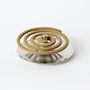 Container for mosquito coil Brass