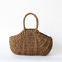 AKEBIA BASKET BAG TEXTILE PATTERN
