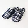 Bespoke Linen Slippers Claire