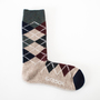ARGYLE WOOL CREW MENS SOCKS