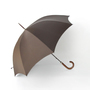 Men Long Umbrella Brown