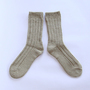 Natural dyed socks