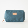 BESPOKE SQUARE POUCH BLUE-GREY
