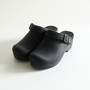 Clogs Ingrid Black Oiled