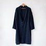 LINEN WOOL LIGHT COAT
