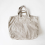 HERRINGBONE LINE 2WAY TOTE BAG