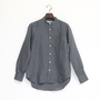 Linen Long Sleeve shirts band collared