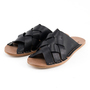 M サンダルHYACINTH LEATHER BLACK