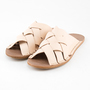 M SANDALS. HYACINTH LEATHER NUT