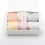 TENUGUI WAFFLE GAUZE COTTON CLOTHS SET OF 6