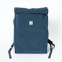 BACKPACK  SQUARE NAVY
