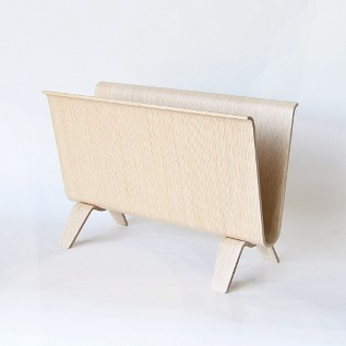 Magazine rack White Oak