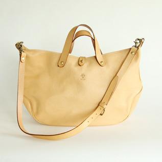 2WAY bag Natural