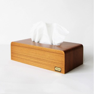 Tissue Box Cover teak