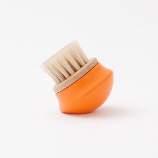 プチ靴ブラシ(オレンジ)