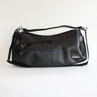 2way one shoulder bag Black