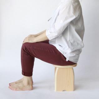 座ったサイズ感