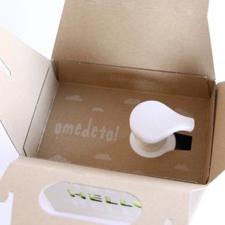 箱を開けるとメッセージが見えます