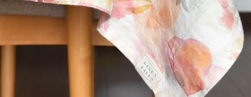 【受注会】絵を飾るように使う、テーブルクロス。LINEN TALESのプリントシリーズを限定紹介。