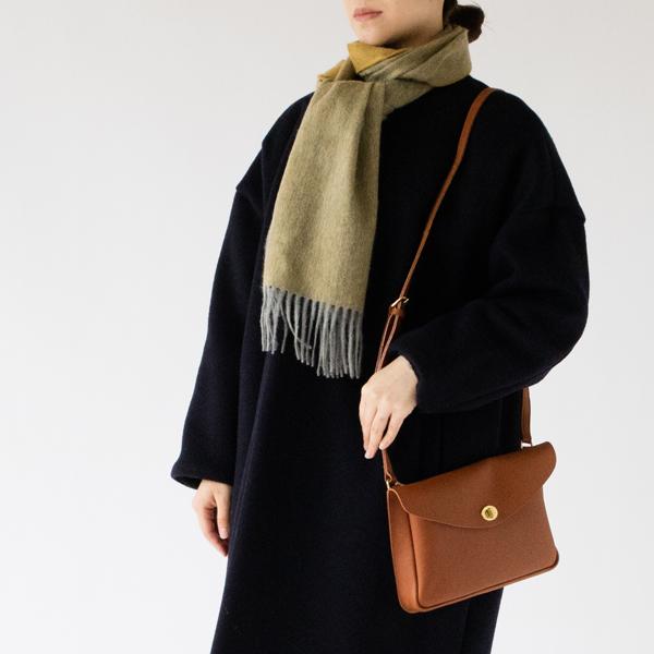 ストール Arran Semi Reversible Flannel French Gold