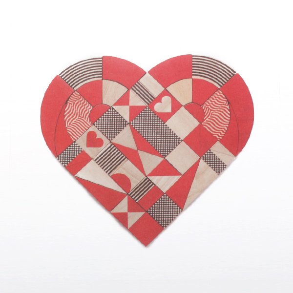 BUILDING BLOCK HEARTSHAPES