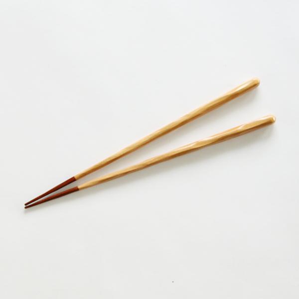けずり桜 箸先うるし(大)