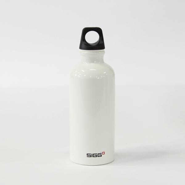 SIGG トラベラーホワイト 0.4L ブラックキャップ