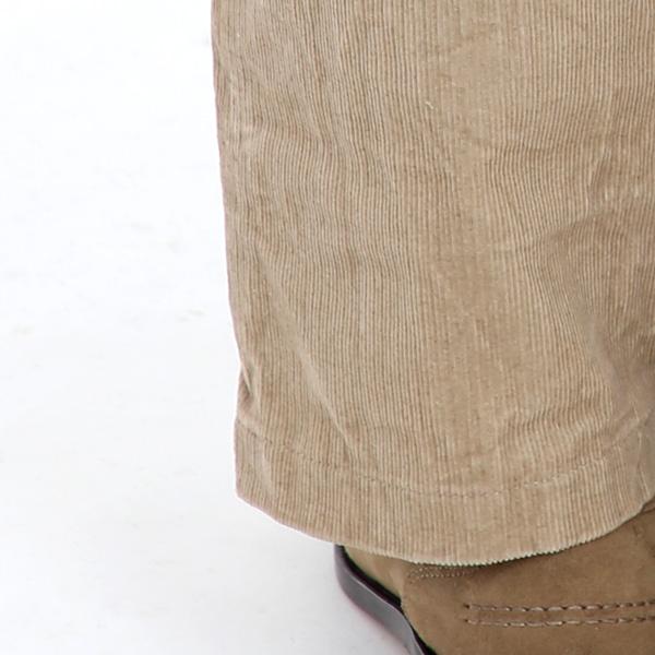 柔らかく、しなやかで穿きやすい16Wコーデュロイをピックアップ(BEIGE)